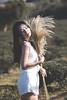 IMG_1149 (Yi-Hong Wu) Tags: 芒花 芒草 秋芒 季節 花 草 女孩 女 女生 女子 女人 女性 外拍 煙 eos6d 可愛 性感 美 唯美