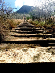 start at koko head (peakintheclouds) Tags: kokohead trail hawaii oahu honolulu kokoheadcrater outside workout