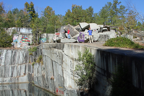 Anderson Granite Quarry Fairfield South Carolina