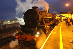 44871 (matty10120) Tags: cardiff central class railway train rail transport black 5 lms british the welsh marches express