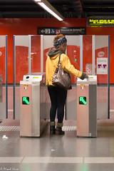 Al metro (Miquel Lleix Mora [NotPRO]) Tags: barcelona catalunya espaa es