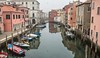 Canal and Fog (Franco Beccari) Tags: fog canal chioggia boats reflections nikon vacation color colour holiday trip travel tourism red yellow green blue black white world europe city photography nikkor d600 nikond600 veneto italy