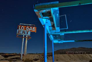 no-gas. mojave desert, ca. 2016.