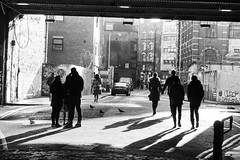 underthebridge (gregjack!) Tags: uk london shoreditch bridge underthebridge people shadows crowd bw bnw blackandwhite streetphotography sony sonyrx10m3 silhouette