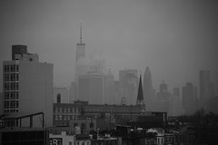 Foggy Morning Commute (Alejandro Ortiz III) Tags: 6d alejandroortiziii alex alexortiz allrightsreserved brooklyn canon canoneos commute copyright2016 copyright2016alejandroortiziii digital eos foggy freedomskyline freedomtower freedomtowerskyline freedomisnotfree lightroom lightroom3 morning newjersey newyork newyorkcity promaster promastertamron promaster70300mmf456 rahway shbnggrth alexortizphotogmailcom fog