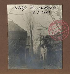 Kriegserinnerungen 1914-18. 166 - Ichtegem, kasteel Rosendahl (Feldpost 14) Tags: wwi worldwari flandern ichtegem