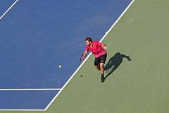 "Stan ""The Man"" (Carlos Rivera Anaya) Tags: rogers cup tennis stan the man wawrinka tournament canada toronto yorkdale aviva center green blue court red"