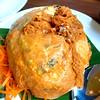 Tahu Telor (diced beancurd, eggs and spring onion wrapped in beancurd skin) (Rachel Toh) Tags: food beancurd springonion egg