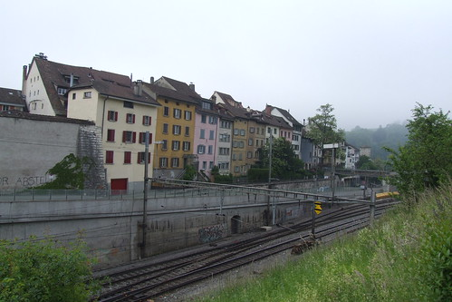 Buildings on Grabenstrasse, 19.05.2012.