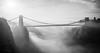 Clifton Suspension Bridge (snazbaz) Tags: bristol clifton suspension bridge brunel foggy fog mist dramatic drama moody
