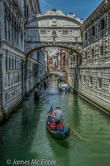 Bridge of Sighs (jamesmcentee560) Tags: bridge venice italy reflection green castle water europe skies gondola autofocus bestcapturesaoi elitegalleryaoi