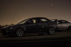 EVO X GSR (thesuperveloce) Tags: light sky cars wheel night racecar canon that stars drive long exposure track all trails evolution automotive turbo evox lancer mitsubishi jdm evo stance gsr 60d 4b11t