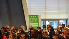 SustainDC Health Care Pledge Featuring Mayor Vincent C Gray, Washington DC USA 49102 (tedeytan) Tags: healthcare sustainability kaiserpermanente environmentalstewardship centerfortotalhealth sonye18200mmf3563 sustaindc carbonemissionrecuctions