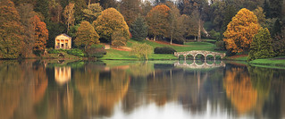 Summer Warmth, Autumn Colour at Stourhead