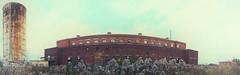 retro panorama (Mr Kevino) Tags: abandoned stitch panoramic niagara