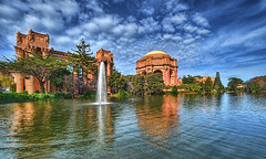 Palace of Fine Arts - HDR by Ah Hman (artstreamme) Tags: art flickr fine palace hdr topaz adjust 9xp perfectphotog 1424mm ifttt