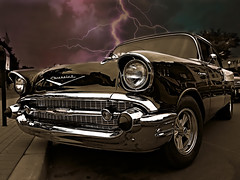 Stormy Night (jack byrnes hill) Tags: cars ford chevrolet canon chevy oldcars hotrods vintagecars oldsmobile 57chevy customcars antiquecars carshows g16 34ford newjerseycarshows jackbyrneshill canong16 jackbyrneshillphotography