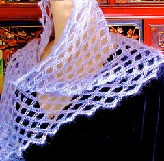 Aery-Faery as Rectangular Scarf/Wrap (vashtirama) Tags: scarf shaped lace crochet silk wrap ombre diagonal mohair inprogress pdf lacy lurex offset stole stretchy bias 45degreeangle picots shaping laceweight mydesign artyarns 45degrees loopscarf downloadable biasing filetcrochet tunisiancrochet crochetpattern 45 crochetdesign eternityscarf crochetcowl ringscarf filetlace vashtibraha selfedging designingvashti crochetinspirationsnewsletter tunisianfiletcrochet lacytunisiancrochet crochetnewsletter vashtisnewsletter