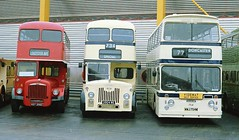 Doncaster 206 and Sheffield 904 & 754 (Henry W1) Tags: sheffield daimler leyland doncaster