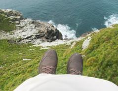 Cliff top (twinkle_moon_bunny) Tags: autumn cliff castle cornwall legend mythology tintagel arthurian