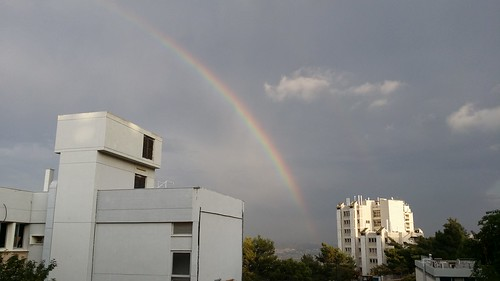 Rainbow over Nesher (Haifa, Israel)