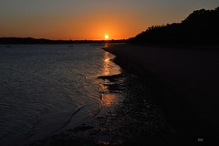 DSC_0030 (RUMTIME) Tags: sunset beach queensland coochie coochiemudlo aguaprotectora