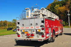Circleville Fire District Truck 106 (Triborough) Tags: truck newjersey nj firetruck fireengine ladder newton spartan cfd sussexcounty lti truck106 circlevillefiredistrict