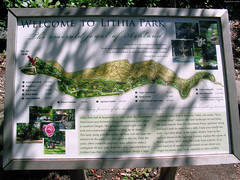 "Lithia Park map plaque • <a style=""font-size:0.8em;"" href=""http://www.flickr.com/photos/34843984@N07/15359944358/"" target=""_blank"">View on Flickr</a>"