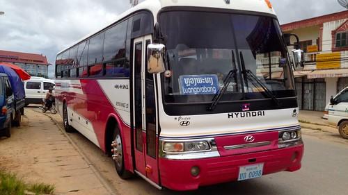 Bus to Luang Prabang,  Phonsavanh, Laos