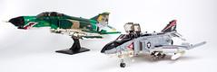 Phantom F4's (bricktrix) Tags: lego phantom phantom2 phantomf4e phantomf4 legojet phantomf4b