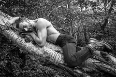 IMG_4110 (Zefrog) Tags: uk bw man london forest nude woods lee pan satyr malenude faun zefrog pinkspanner