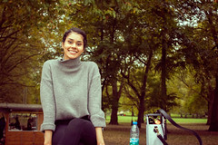 London (juliet_earth) Tags: uk travel portrait england people woman girl beauty smile persons societypolicelondon
