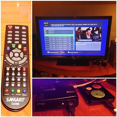 #DigitalTV #SetTopBox ต่อเอง ง๊ายง่าย! เสียบ External Hard Disk เข้าไป ดูหนังได้ คมชัดระดับ HD :D 👍💃