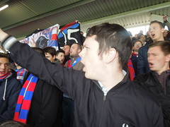 West Brom v Crystal Palace (Paul-M-Wright) Tags: west football october crystal stadium soccer saturday ground palace v 25 match premier league supporters albion ultras fanatics 2014 wba cpfc hawthorns bromwich holmesdale