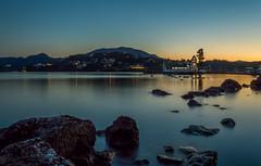 Corfu Vlacheraina monastery. (vlassisd123) Tags: ocean longexposure sea seascape water landscape island nikon rocks raw hellas greece monastery corfu kerkyra d3200