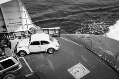DSCF5009a (Ben.d.s) Tags: ocean road trip blue sea summer blackandwhite bw sun white black west ferry vw clouds fun island islands boat washington san fuji juan pacific northwest north beetle roadtrip adventure sanjuan sound pacificnorthwest wa pnw puget vwbeetle sanjuanisland x100 fujix100s x100s x100t