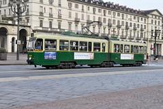 Piazza Vittorio Veneto Turin (Phil Beard) Tags: torino tram trams turin
