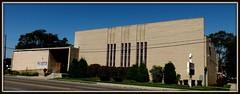 Former Beth Abraham Synagogue (Now Messiah Baptist Church): South Elevation, 8100 W. Seven Mile Road--Detroit MI (pinehurst19475) Tags: city building church architecture modern michigan detroit modernism synagogue midcenturymodern formersynagogue sevenmileroad westsevenmileroad westsevenmile nessiahbaptistchurch messiahbaptist