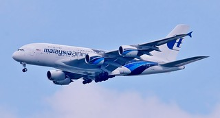 Malaysia Airlines A380  9M-MNC
