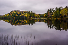 Loon Lake (nikons4me) Tags: autumn wisconsin fallcolor cloudy overcast loonlake mellen copperfallsstatepark ashlandcounty sonye1855mmf3556oss sonynex7