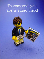 To someone you really are a super hero! (tim constable) Tags: fiction silly toy photography costume cool comic pants lego underwear lol joke dressup humour dude suit story fantasy comicbook dreams superhero motivation funnypics underpants motivational fictional aspirations officeworker minifigure someonespecial timconstable