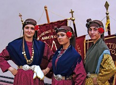 Greece, Macedonia, Florina,  Macedonian girls in traditional greek costumes (Macedonia Travel & News) Tags: vergina macedonia ancient culture sun republic nato eu fifa uefa un fiba mavrovo macedoniablog florina 27192814n macedoniagreece makedonia timeless macedonian macédoine mazedonien μακεδονια македонија travel prilep tetovo bitola kumanovo veles gostivar strumica stip struga negotino kavadarsi gevgelija skopje debar matka ohrid heraclea lyncestis macedoniatimeless