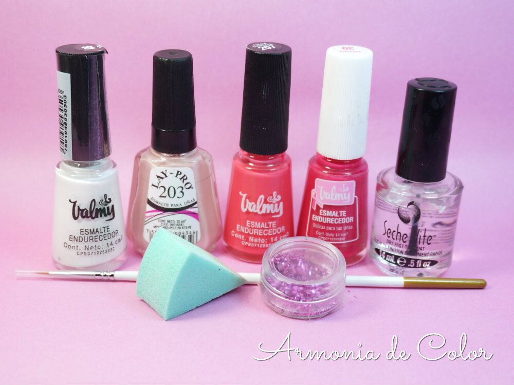 diseño de uñas octubre rosa 1