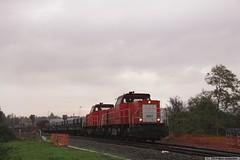 20141015 DBS 6507+6510+afvoertrein, Wondelgem (B) (Bert Hollander) Tags: diesel cargo serie trein grijs dbs weer dow locs afvoer 6400 6510 wondelgem 6500 6507 locomotieven sluiskil vlaamsereus fwo goederentrein dbschenker 45603sludowesn