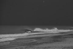 the sky the sea and the grey II (joe.laut) Tags: sea sky bw cloud oktober water landscape grey blackwhite seaside wolken northsea sw schwarzweiss landschaft danmark wellen 2014 incoloro joelaut ablandigwind weatherwaves