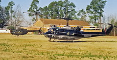 NC Highway Patrol Huey N301HP & NC Army National Guard RAID OH-58A+ Helicopter (rcsadvmedia) Tags: highway bell carolina policehelicopter patrol helicopternorth