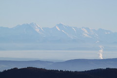 Alpensicht vom Feldberg (chris_freiburg) Tags: mountains alps alpen schwarzwald blackforest feldberg hochschwarzwald fernsicht alpensicht
