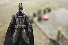 Suited up. (skipthefrogman) Tags: fun toy action figure batman kit bandai spru sprukits