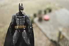Suited up. (skipthefrogman) Tags: fun toy action figure batman kit bandai spru sprukits