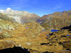 Das Schattenbild-Selfie (HITSCHKO) Tags: schweiz switzerland suisse pass rhne bern alpen rotten svizzera wallis aare valais grimsel innertkirchen grimselpass svizra goms alpenpass gletsch haslital